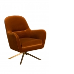 Adele Occasional Chair (Orange)