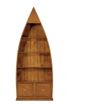 Lifestyle 4 Shelf Dinghy Bookcase